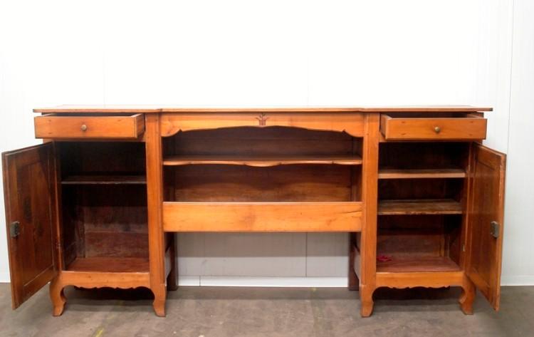B 1980   Console Cabinet Merisier