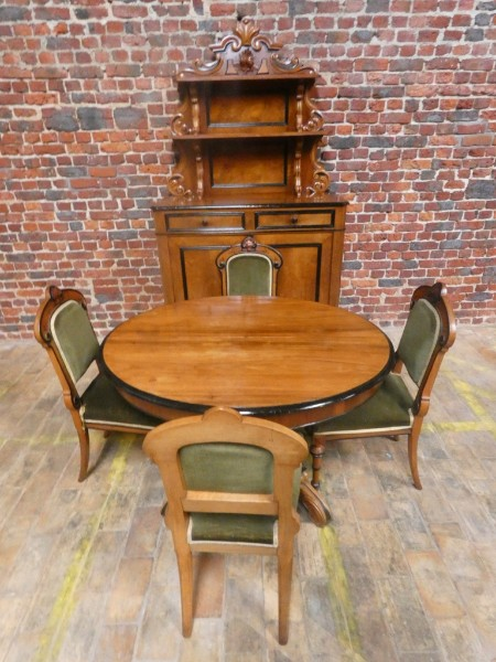 Louis Philippe Dining Set 19th Century